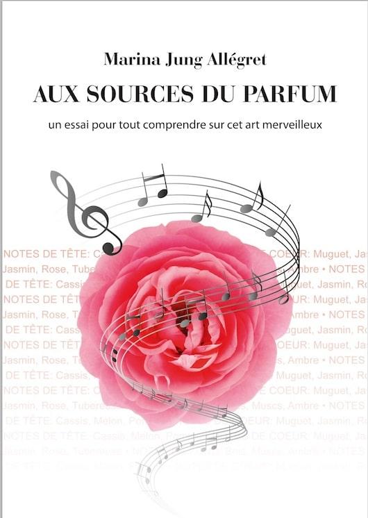 AUX SOURCES PARFUM MARINA JUNG couverture livre