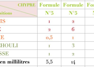 Formule Chypre Rose Fruitée