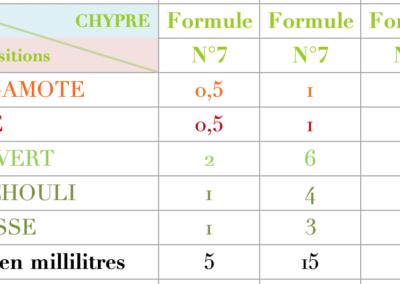 Formule Chypre Vegetal