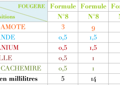 Formule Fougere Classique