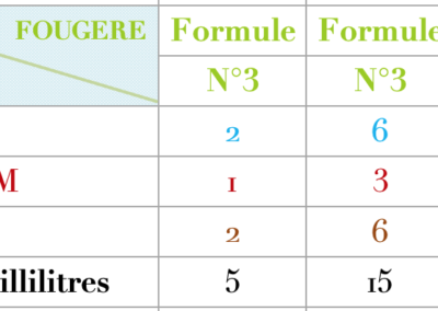 Formule Fougere Douce vanillée