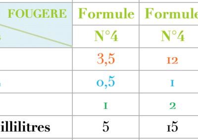 Formule Fougere boisée Mousse