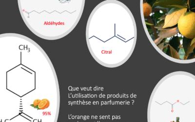 Intérêt des produits de synthèse en parfumerie. 1ère Partie.
